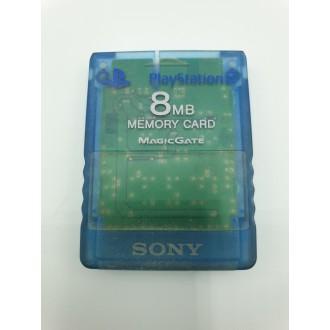 Carte mémoire officielle Playstation 2 Bleue
